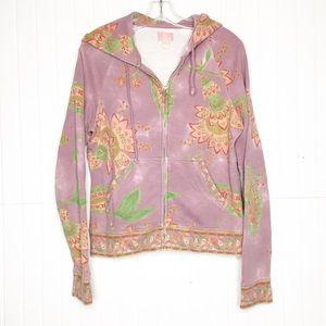 Lucky Brand | Boho Lotus Sweatshirt